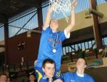Триумф йыхвиских баскетболистов (Рене КУНДЛА/АРХИВ)
