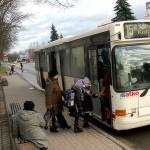 Старые автобусы на кохтла-ярвеских линиях уже ушли в прошлое.  Архивное фото, автор - Пеэтер Лиллевяли
