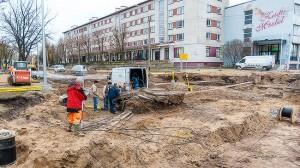 В 2013-2014 годах была произведена капитальная реконструкция центрального участка нарвской улицы Александра Пушкина.