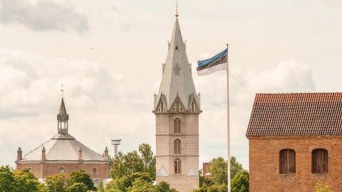 Нарвская Александровская церковь.  Архивное фото, автор - Илья Смирнов