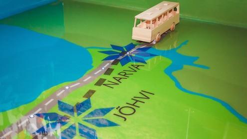 Уездные автобусные линии убыточны для Нарвы.  Архивное фото, автор - Илья Смирнов