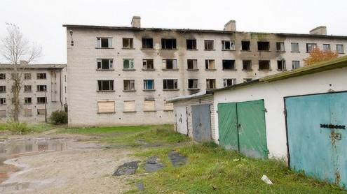 Пустующее жилье в Кивиыли.  Архивное фото, автор - Матти Кямяря