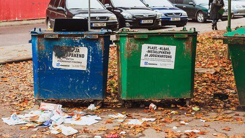 Мусор и мусорные контейнеры в Нарве (Илья СМИРНОВ)