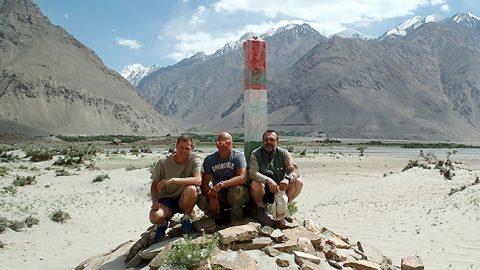 В 2013 году вместе с Кари и Ристо в Таджикистане в горах Гиндукуш на границе с Афганистаном.