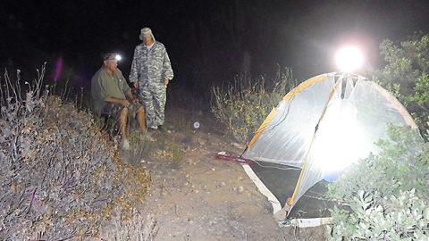 Для ночной ловли ставят палатки-ловушки, куда бабочек заманивают кварцевыми лампами. Чили, Сантьяго, февраль 2017 года.