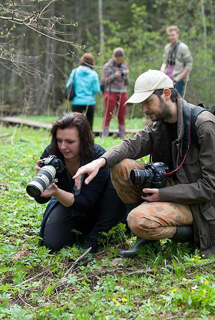 Фотообучение Ремо Сависаар проводит как групповое, так и индивидуальное.