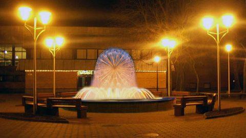Так по одному из эскизов может выглядеть фонтан, который вскоре подарят городу.