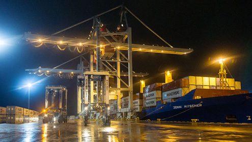 На сегодня контейнерный терминал в Силламяэ работает уже почти целый год.