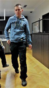 Приговоренный к 13 годам тюрьмы Александр Поляков весной 2017 года в Вируском уездном суде.