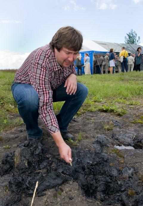 """В 2011 году на семинаре """"Purfest"""" по окружающей среде за изучением загрязнения ухакуских карстов."""