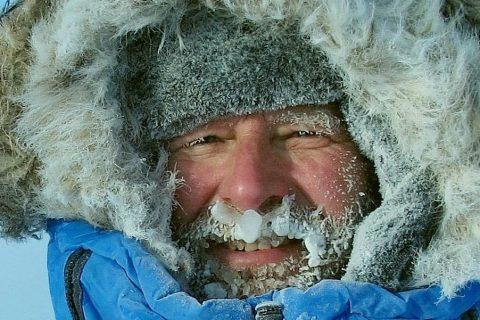 2016 год. На высочайшей вершине Шпицбергена при минус 33 градусах. (ЧАСТНЫЙ АРХИВ)
