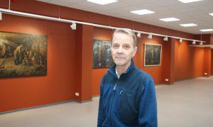 Директор Кохтла-Ярвеского Музея сланца Айнар Варинурм (АРХИВ)