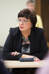 Директор Йыхвиской русской основной школы Ирина Шульгина (АРХИВ)