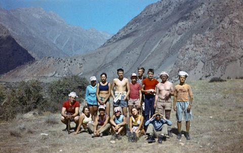 """""""Найди на фото будущего геолога"""" - так Марко Померанц подписал этот сделанный в 1979 году на Кавказе снимок. (Фото: частный архив)"""
