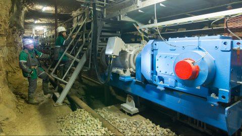 """На открывшейся 45 лет назад шахте """"Estonia"""" годовая добыча в 2017 году, благодаря автоматизации производства и реорганизации труда, достигла десяти миллионов тонн. (Фото: Матти КЯМЯРЯ/АРХИВ)"""