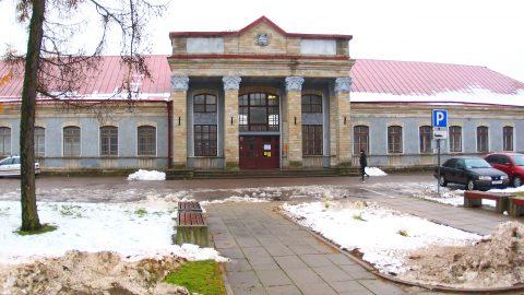 Работы по реконструкции Нарвского вокзала будут вестись параллельно с реконструкцией линии Тапа-Нарва. (Фото: Илья СМИРНОВ/АРХИВ)