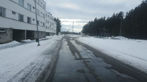 На реконструкцию улицы Виру в Пюсси потратят более полумиллиона евро. На эти деньги проведут основательное обновление, а также заменят основание дороги. (Фото: Герли РОМАНОВИЧ)